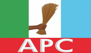 This Image May Contain A Hand Holding A Broom WIth Colors Green, White And Blue With Caption Apc