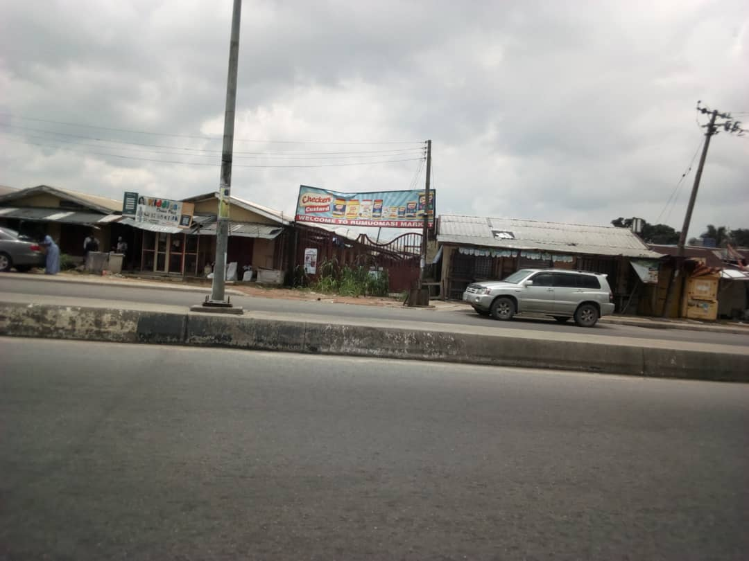 COVID 19: Weeds Take Over Port Harcourt Market