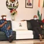 Gov Wike Visits A'Ibom, Mourns Nkanga, PDP Chairman, Others